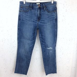 J. Crew Vintage Straight Jeans Medium Wash 32